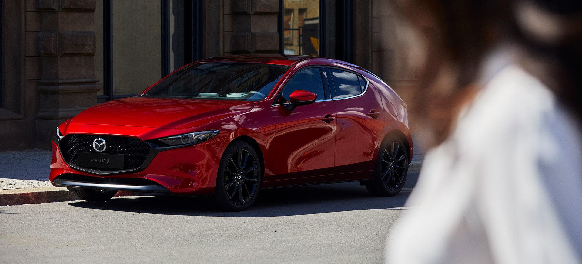 Mazda 3 2019 Rojo Diesel