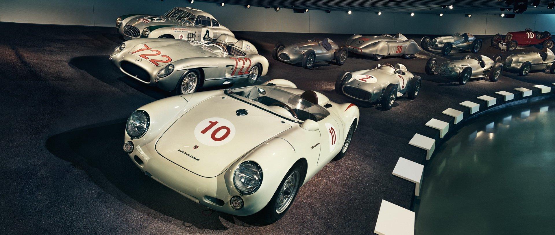 Mercedes Museo Porsche 550 3