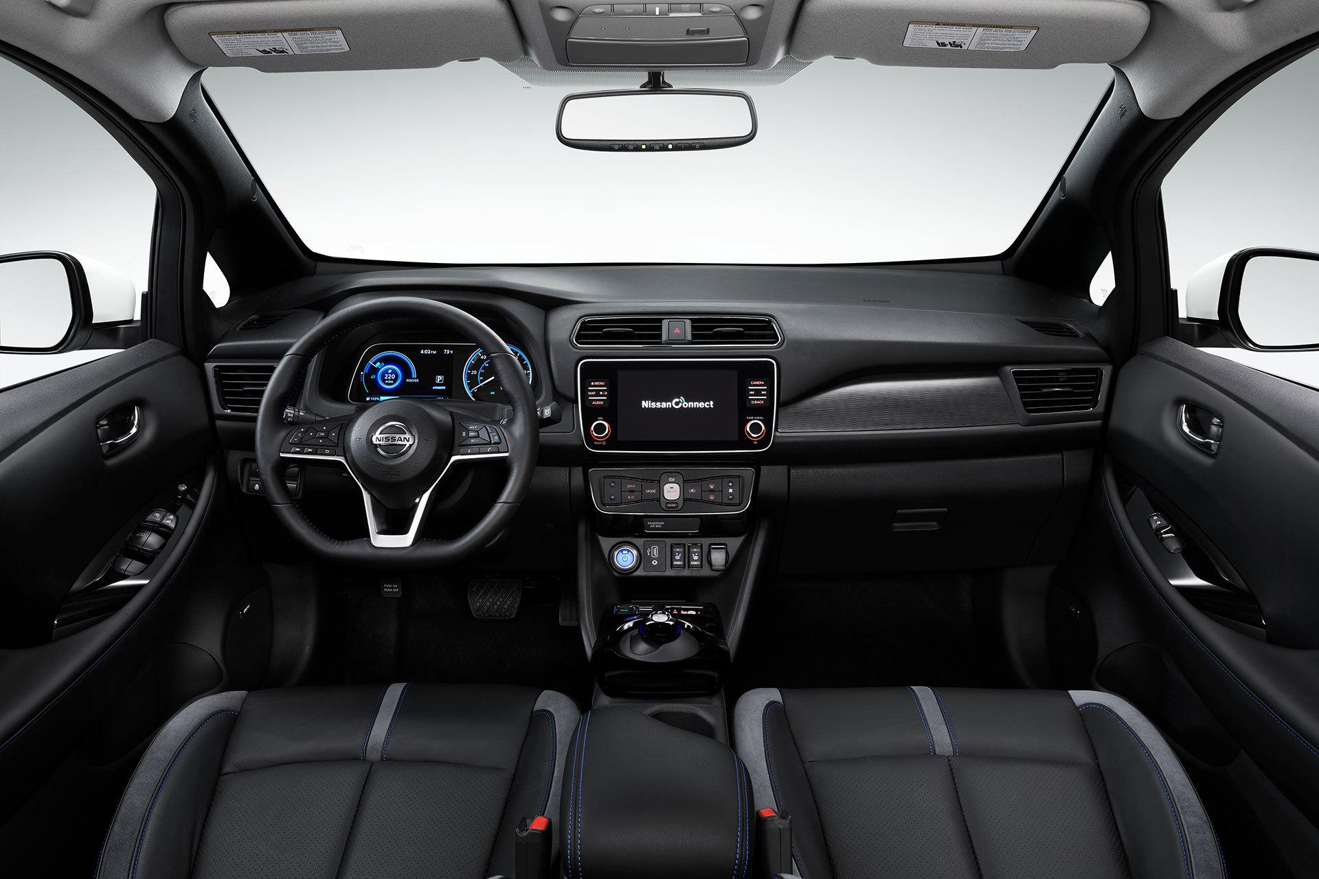 Nissan Leaf 3zero 2019 Interior 02