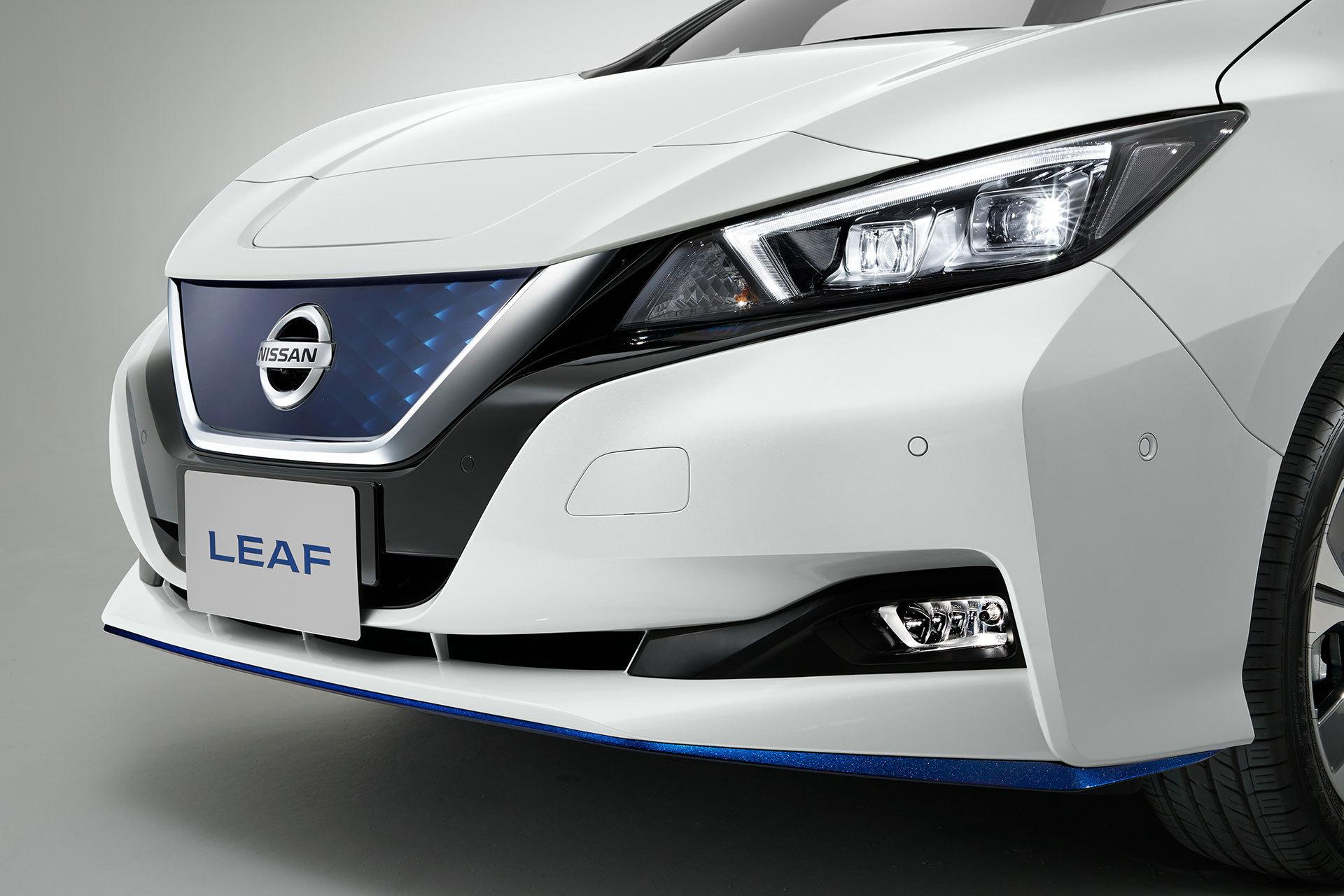 Nissan Leaf 3zero Blanco Exterior 08
