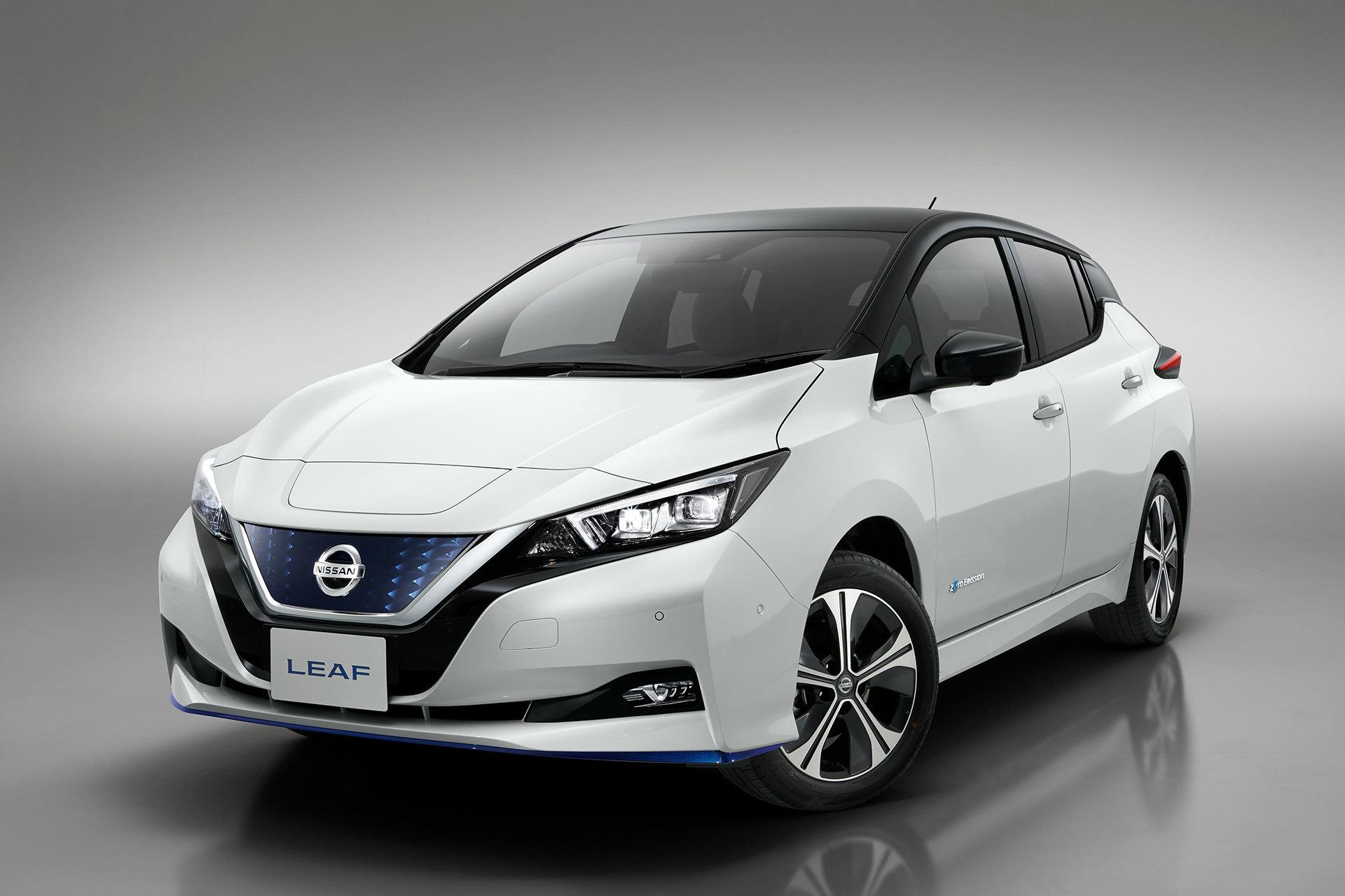 Nissan Leaf 3zero Blanco Frontal 01