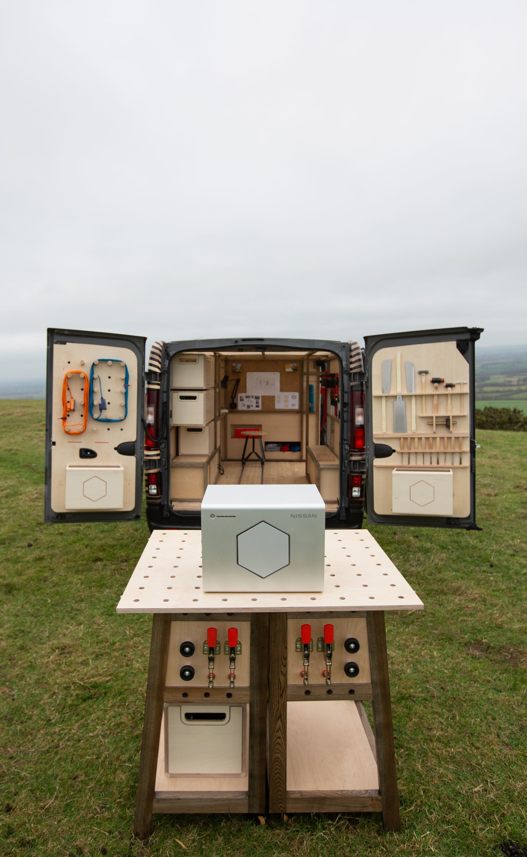 Nissan Unveils Nv300 Concept Van, A Mobile Workshop For A Creati