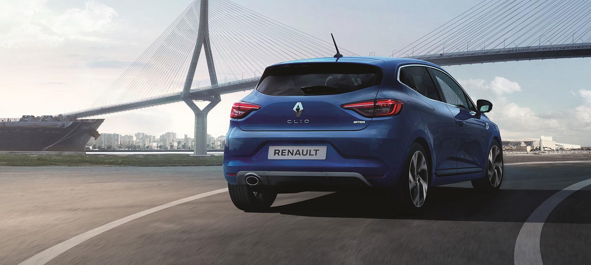 Renault Clio 2019 Rs Line Azul 02