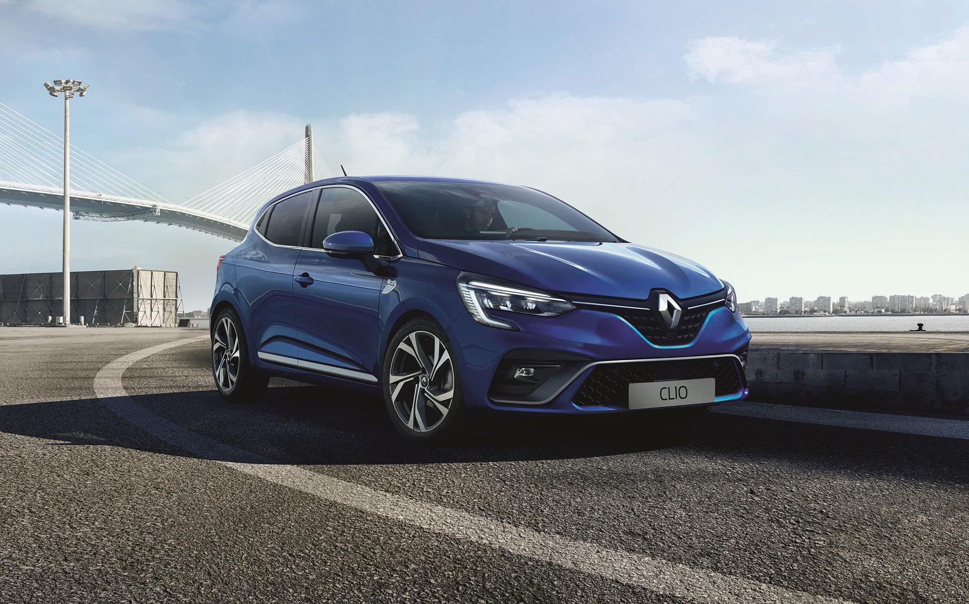 Renault Clio 2019 Rs Line Azul 06