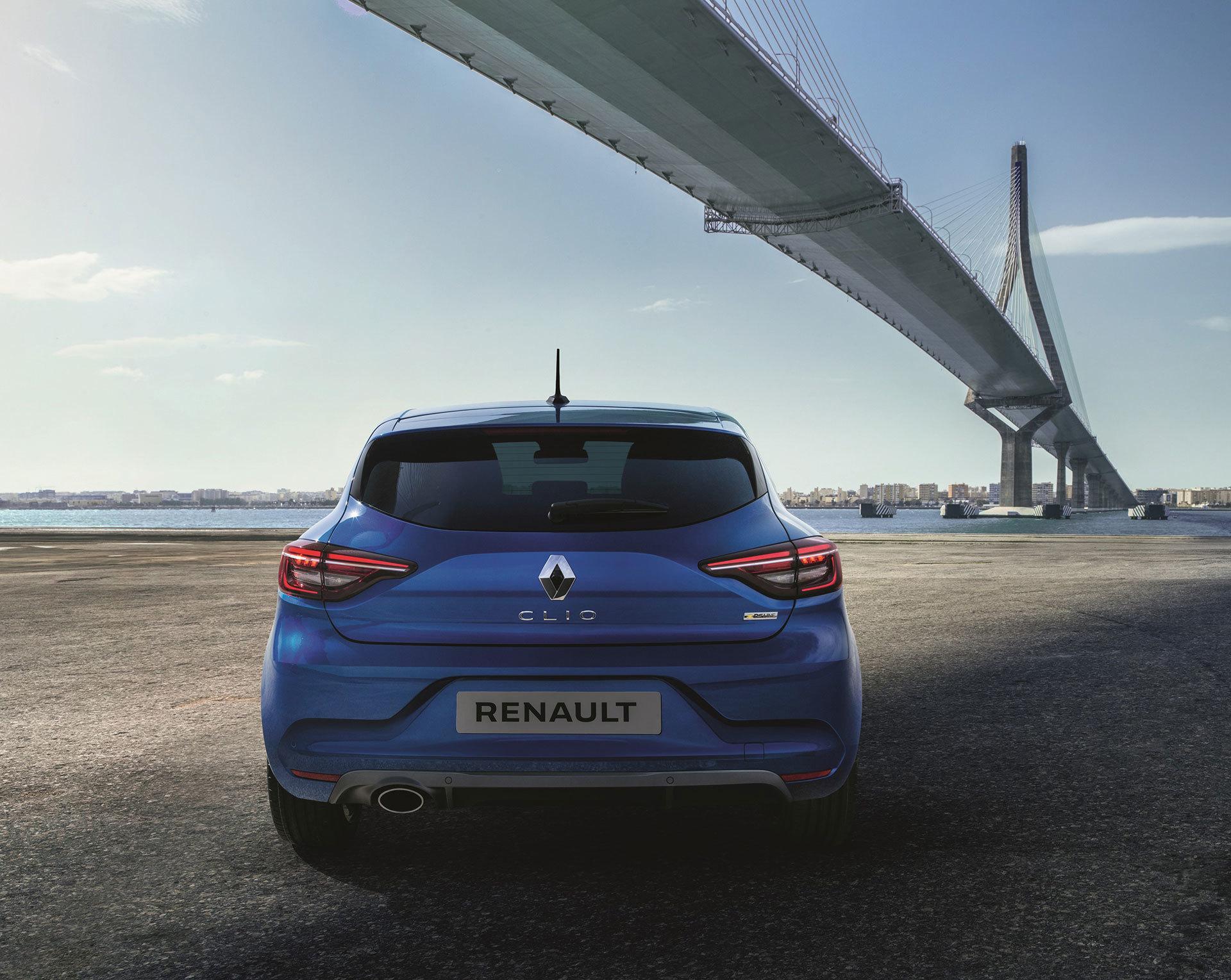 Renault Clio Rs Line 2019 Trasera Exterior 02