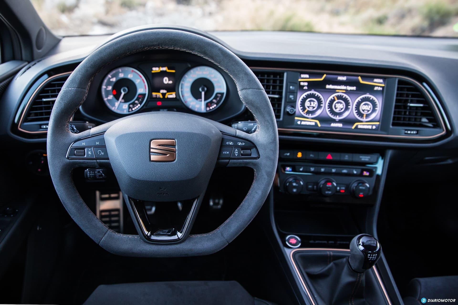 Seat Leon Cupra R Interior 8