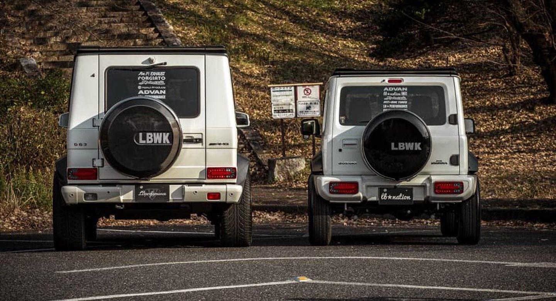 Suzuki Jimny Liberty Walk 1
