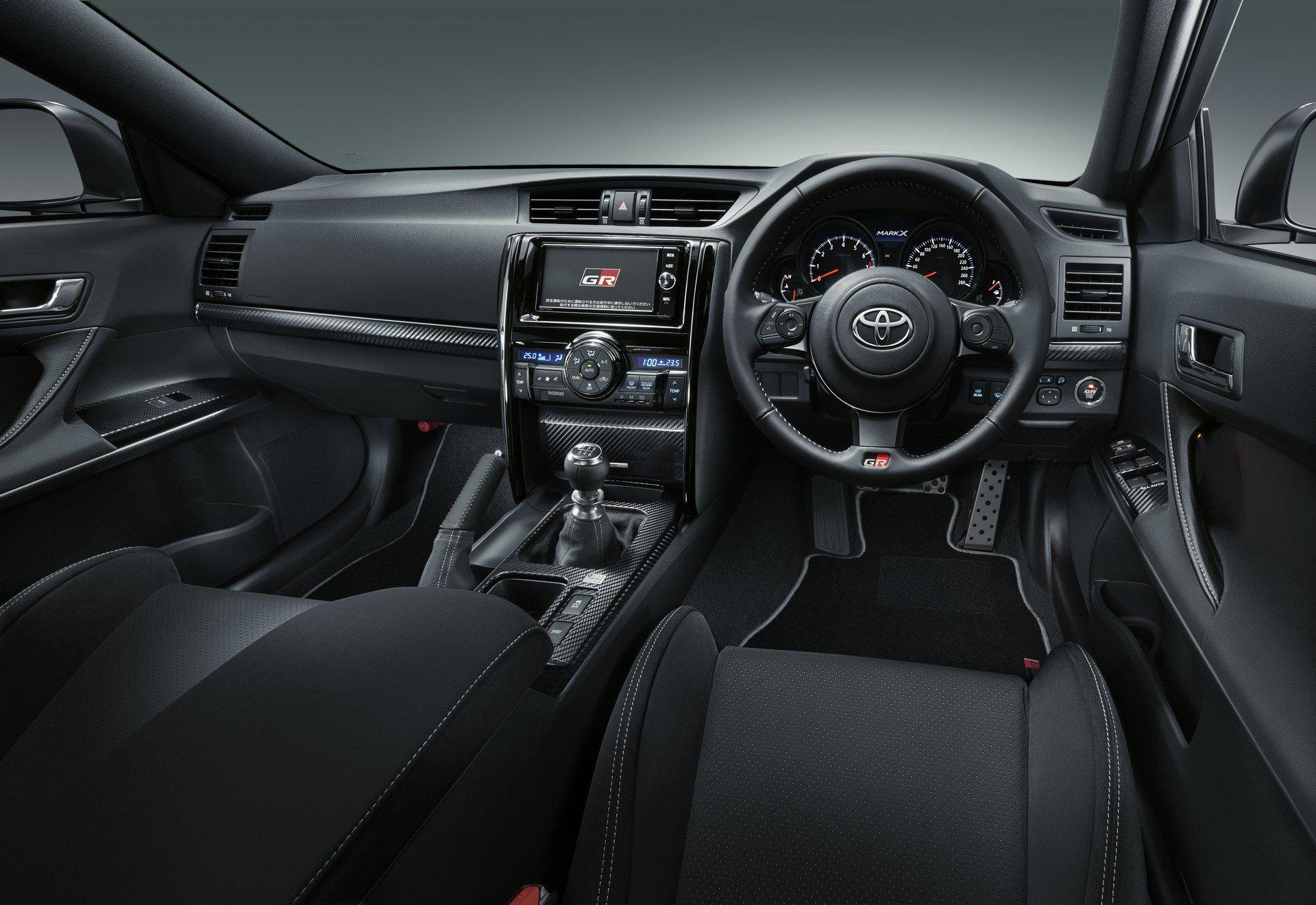 Toyota Mark X Grmn Interior 1