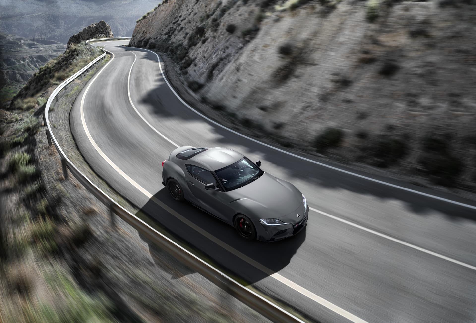Toyota Supra Gris 2019 Toyota Supra Grey Location 007 333496