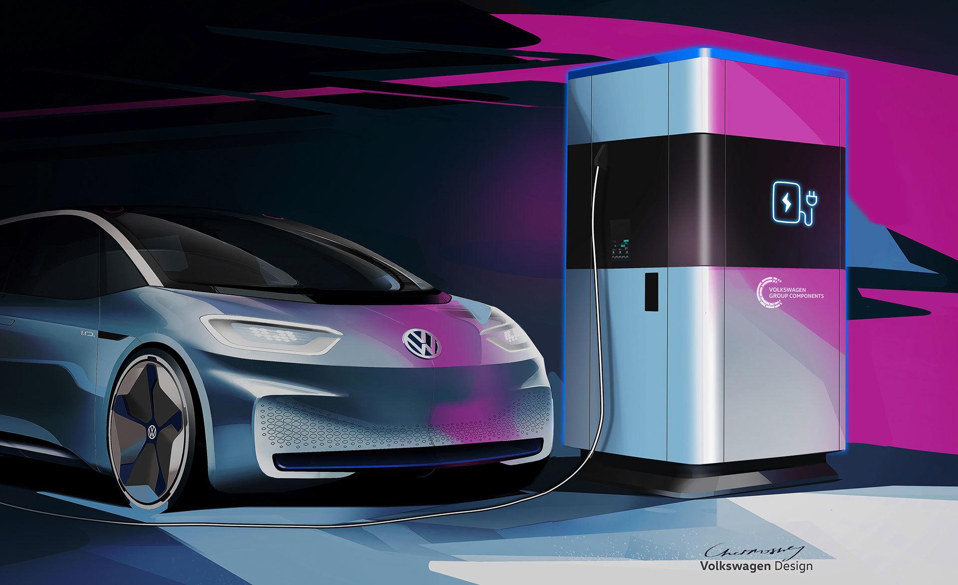 Volkswagen Bateria Portatil Coches Electricos 03