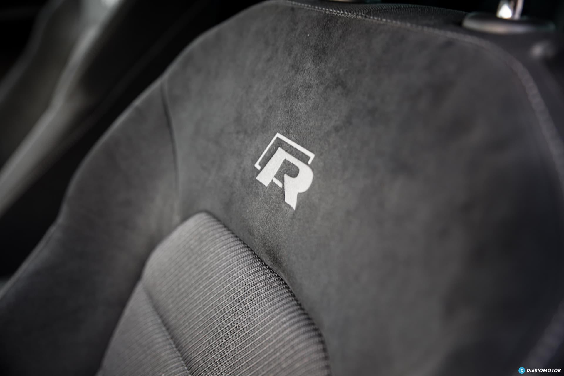 Volkswagen Golf R Asiento