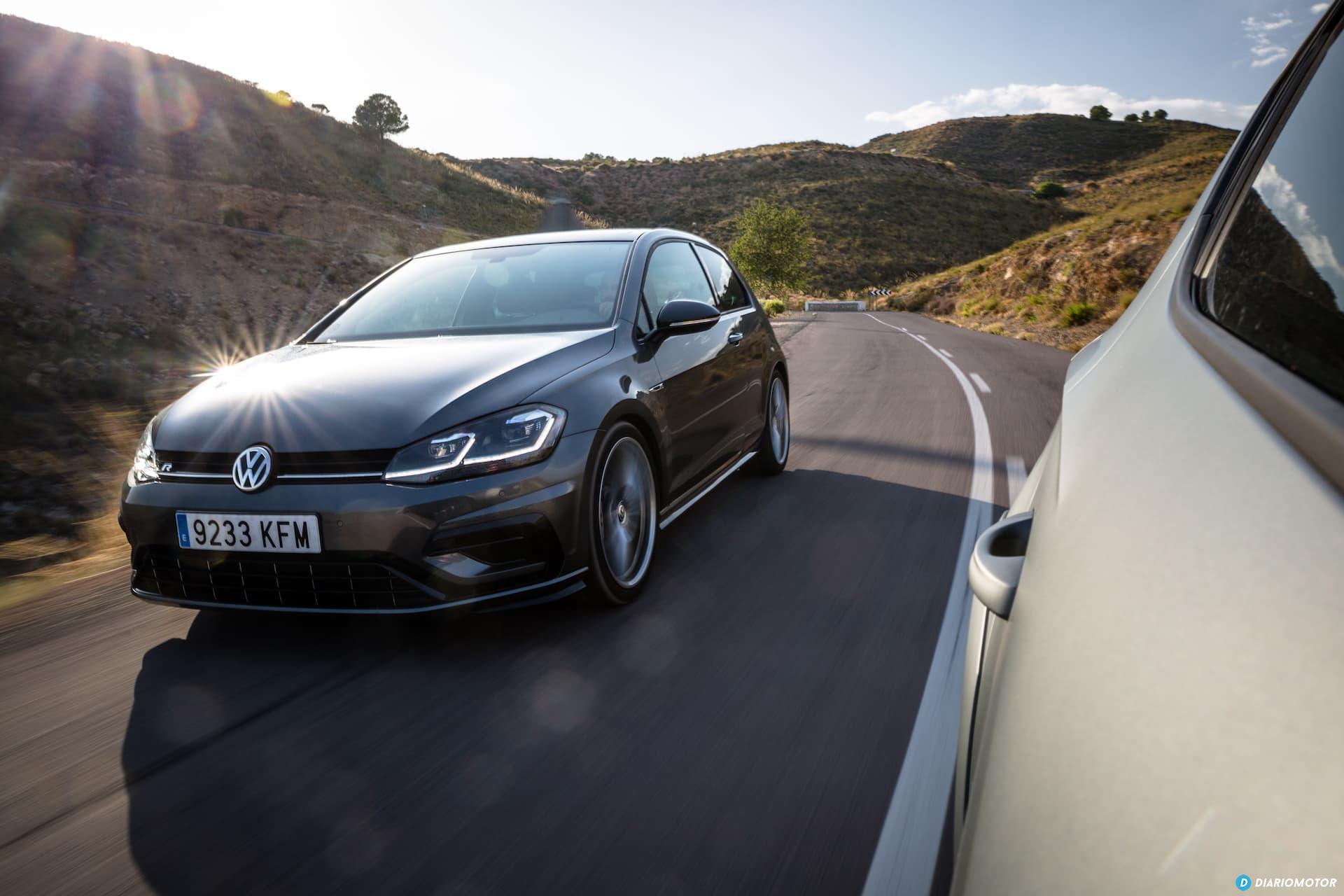 Volkswagen Golf R Seat Leon Cupra R 20