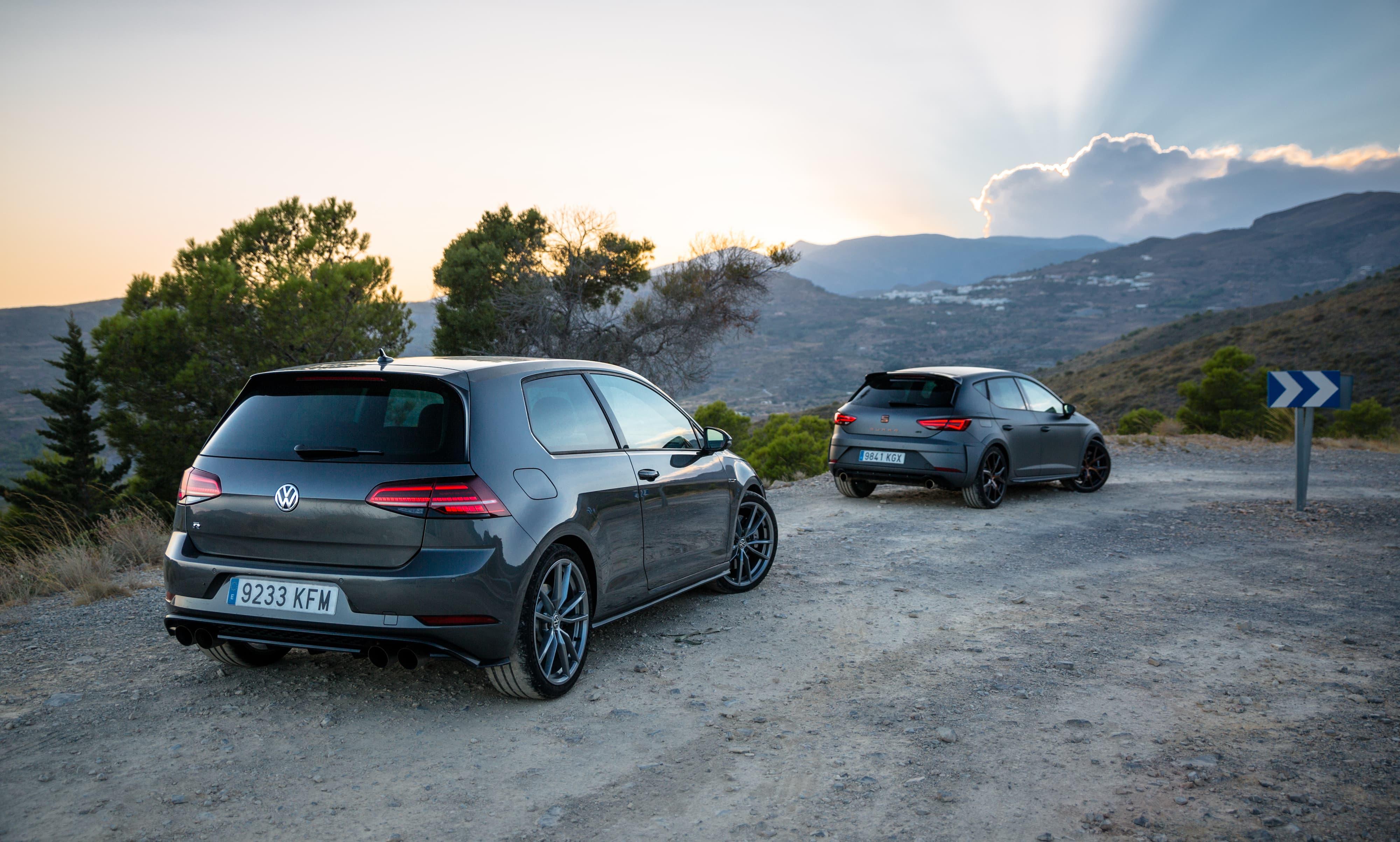 Volkswagen Golf R Seat Leon Cupra R