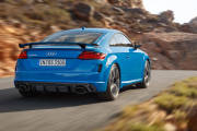 Audi Tt Rs 2019 Azul Exterior Movimiento 02 Trasera thumbnail