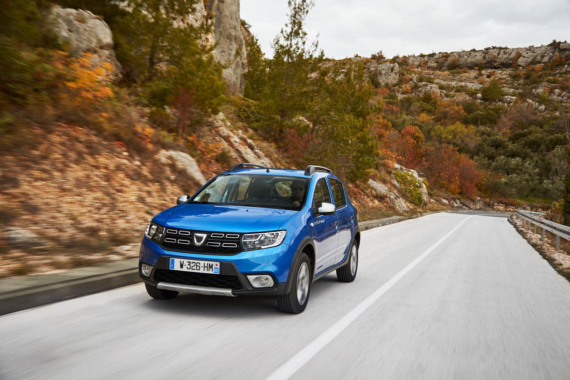 Dacia Sandero Stepway 2019 Azul 04