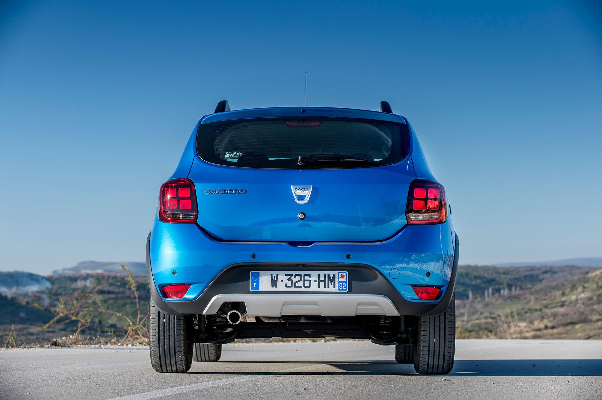 Dacia Sandero Stepway 2019 Azul 26