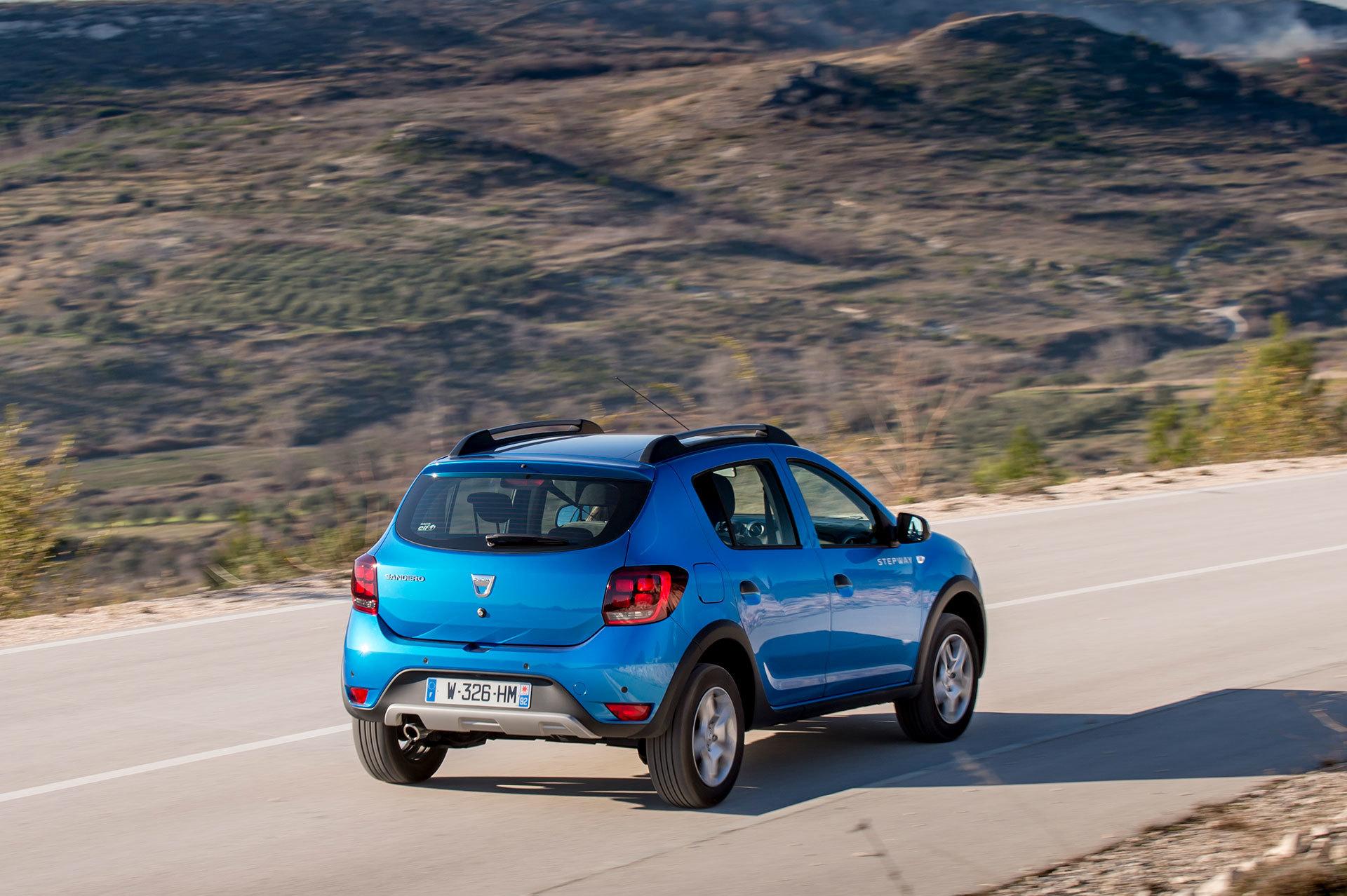Dacia Sandero Stepway 2019 Azul 29