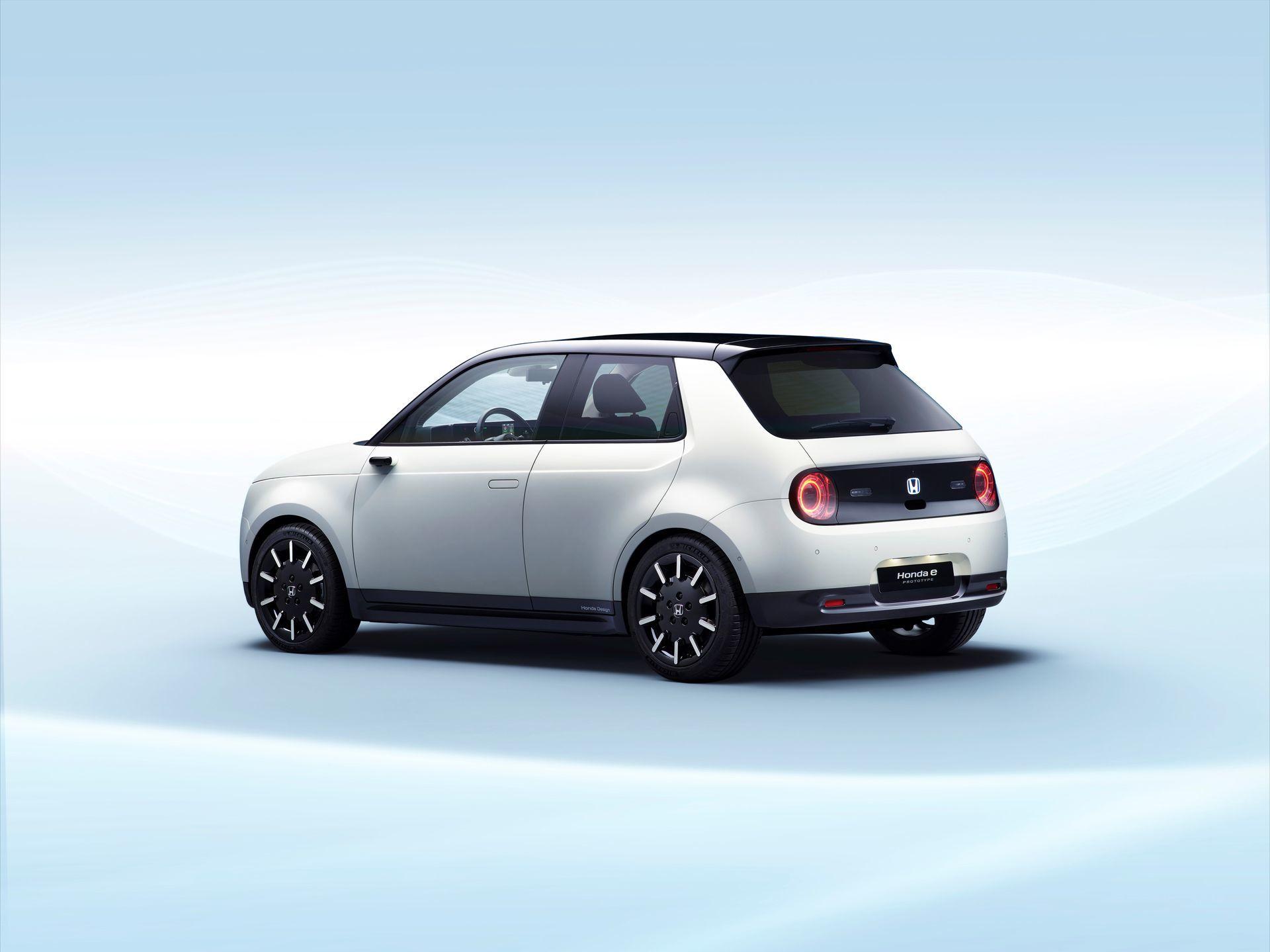 """honda E Prototype"" World Premiere At Geneva International Motorshow 2019"