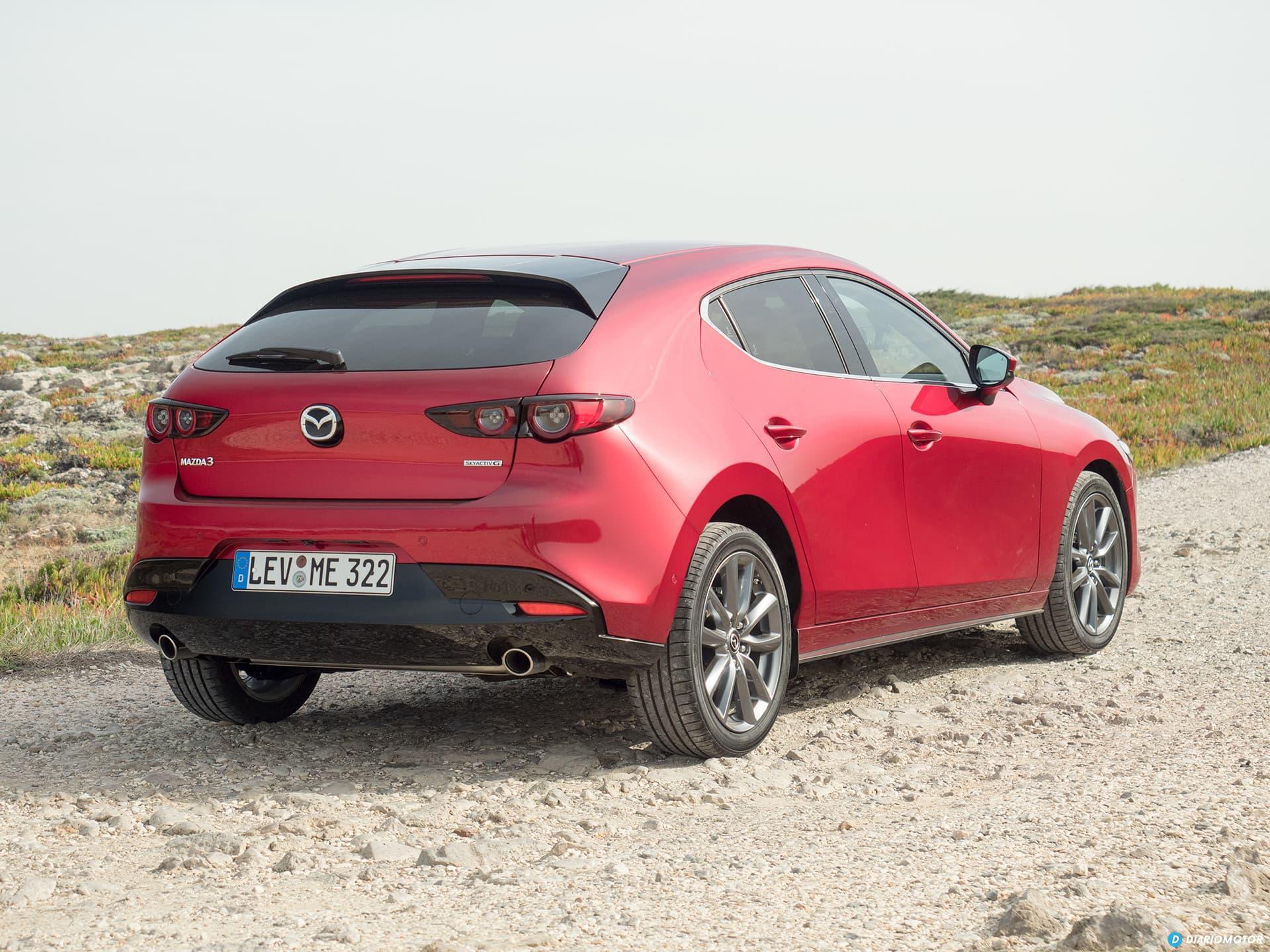 Mazda 3 Skyactiv G  Trasera 00012