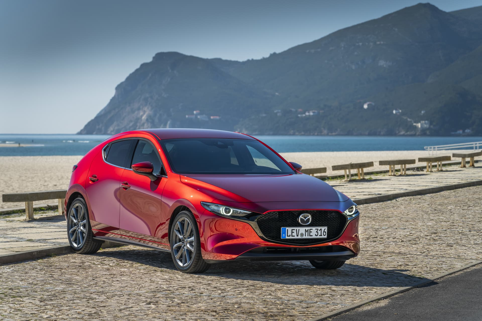 Mazda3 2019 Soulredcrystal Frontal 06