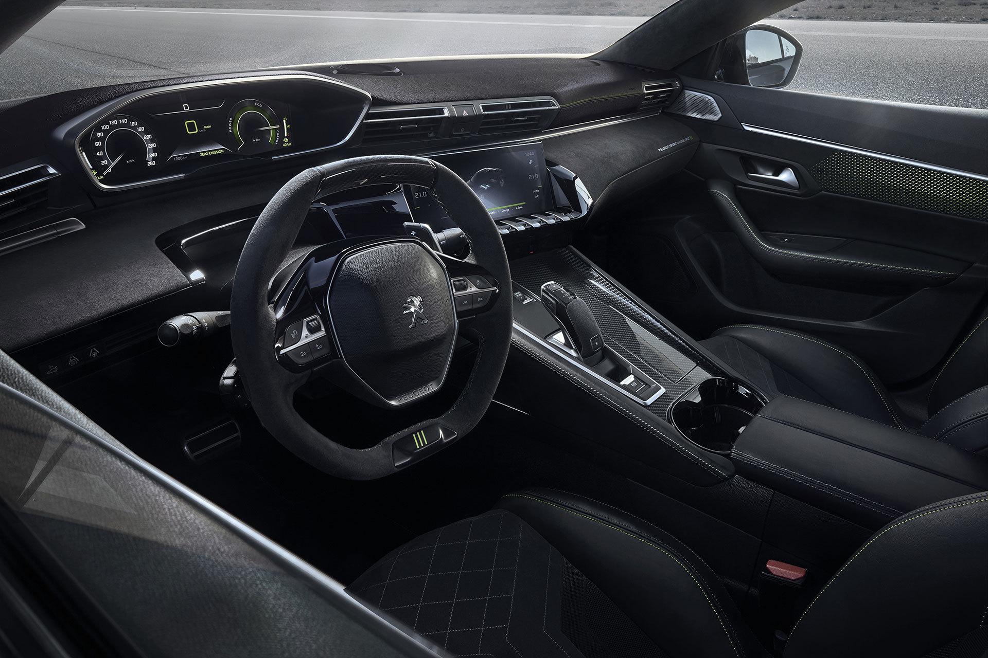 Peugeot 508 2019 Hibrido Sport Engineered Concept 10