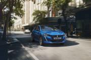 Peugeot E 208 2019 Azul Exterior 02 thumbnail