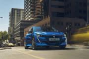 Peugeot E 208 2019 Azul Exterior 03 thumbnail