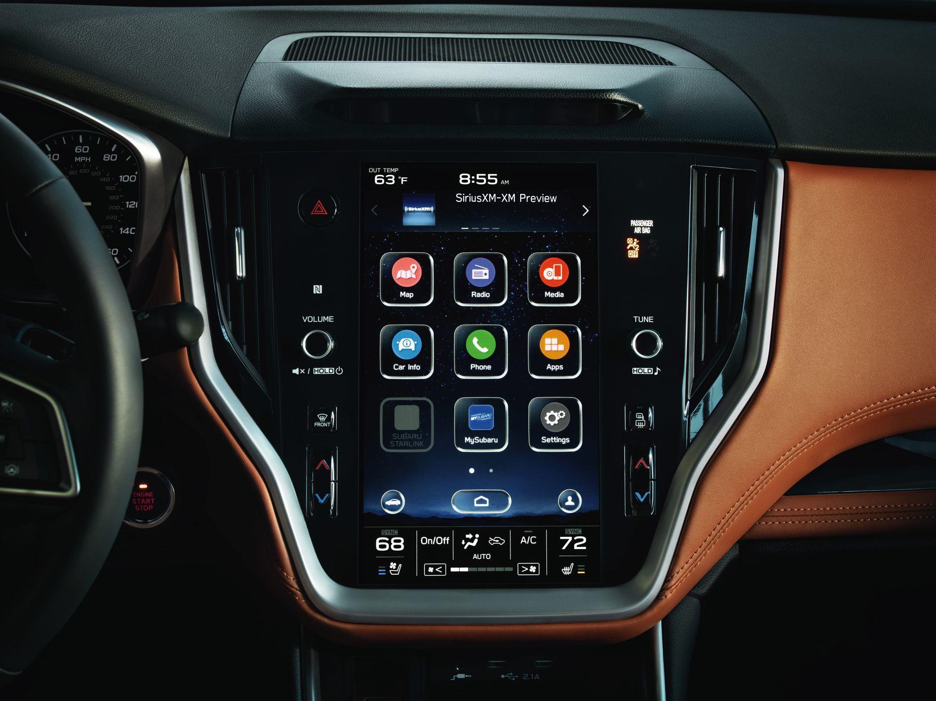 Subaru Legacy 2019 Interior 6