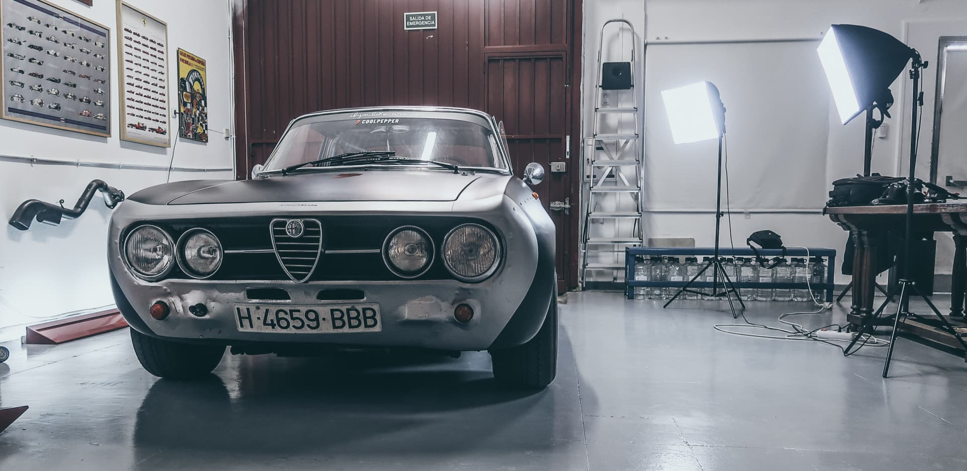Video Alfa Romeo Hector Coche Clasico Dm Alfa Hec 54