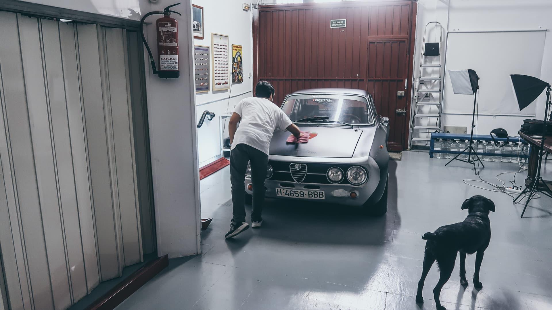 Video Alfa Romeo Hector Coche Clasico Dm Alfa Hec 57