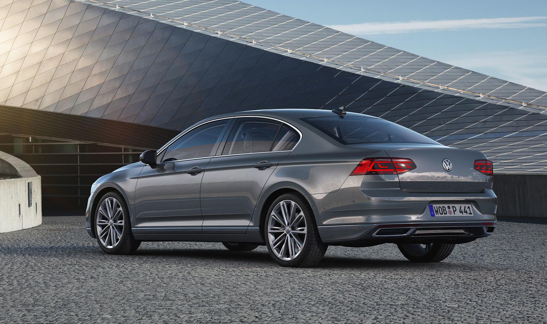 Volkswagen Passat 2019 Gris Exterior 08