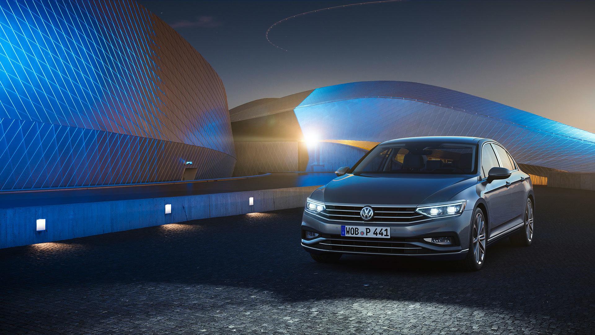 Volkswagen Passat 2019 Gris Exterior 09