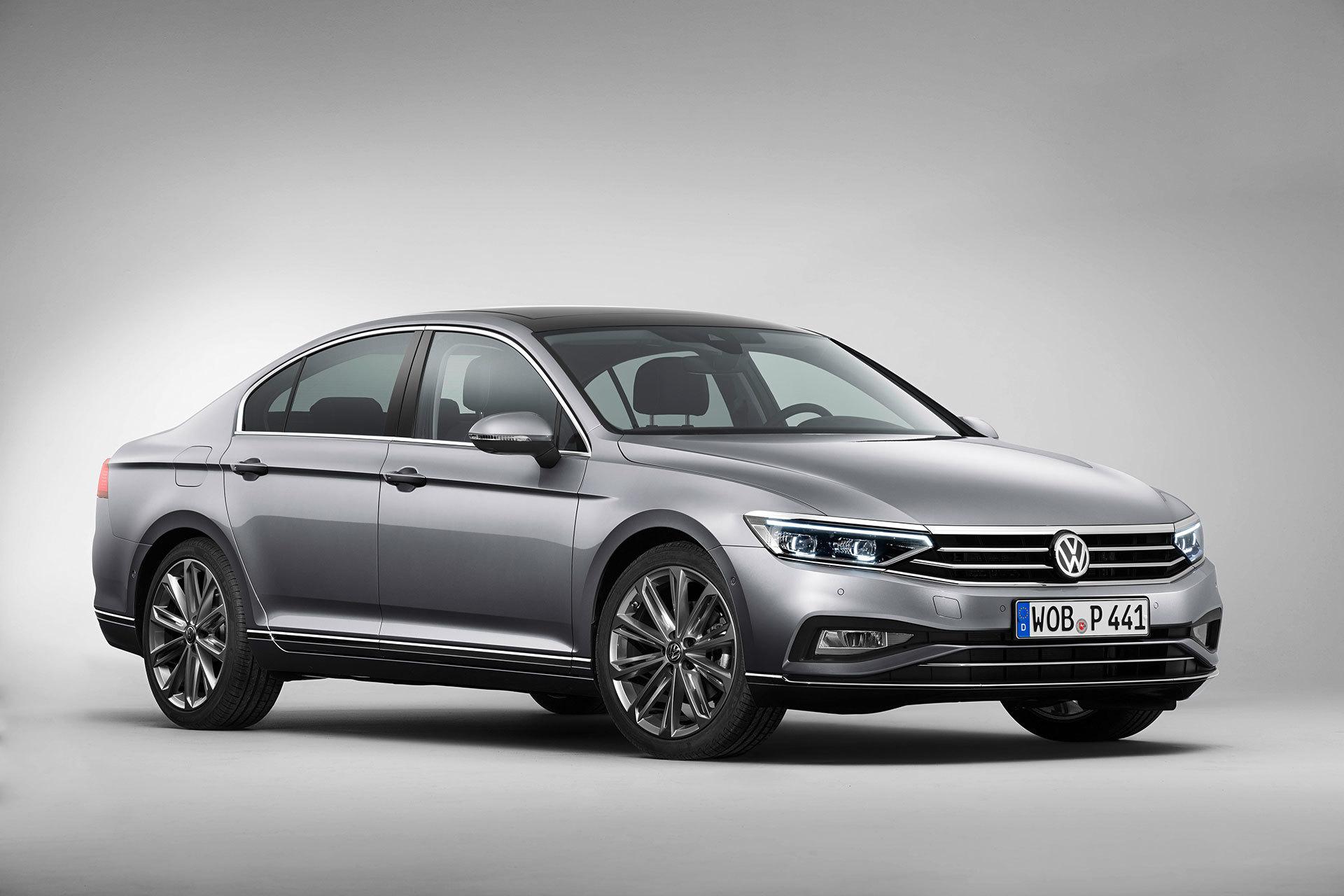 Volkswagen Passat 2019 Gris Exterior 10 Frontal