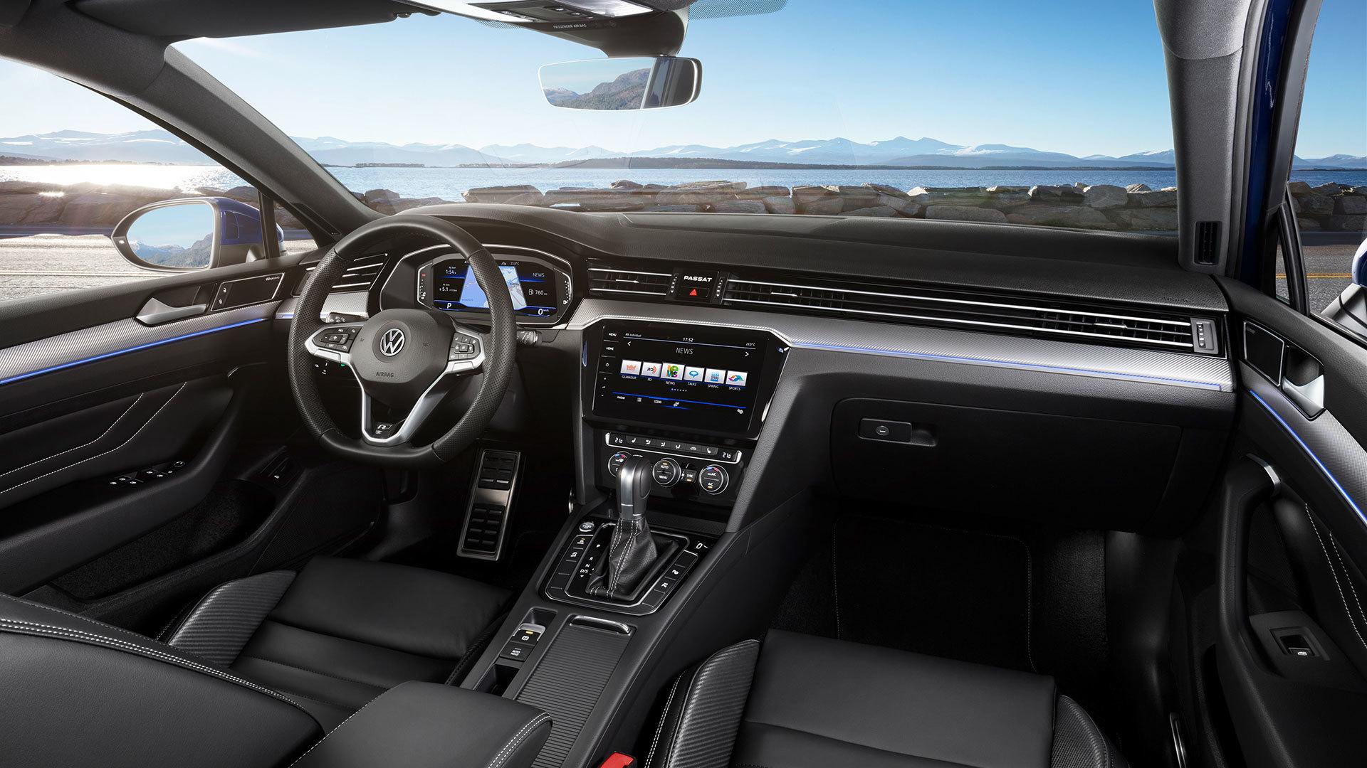 Volkswagen Passat 2019 Interior 01
