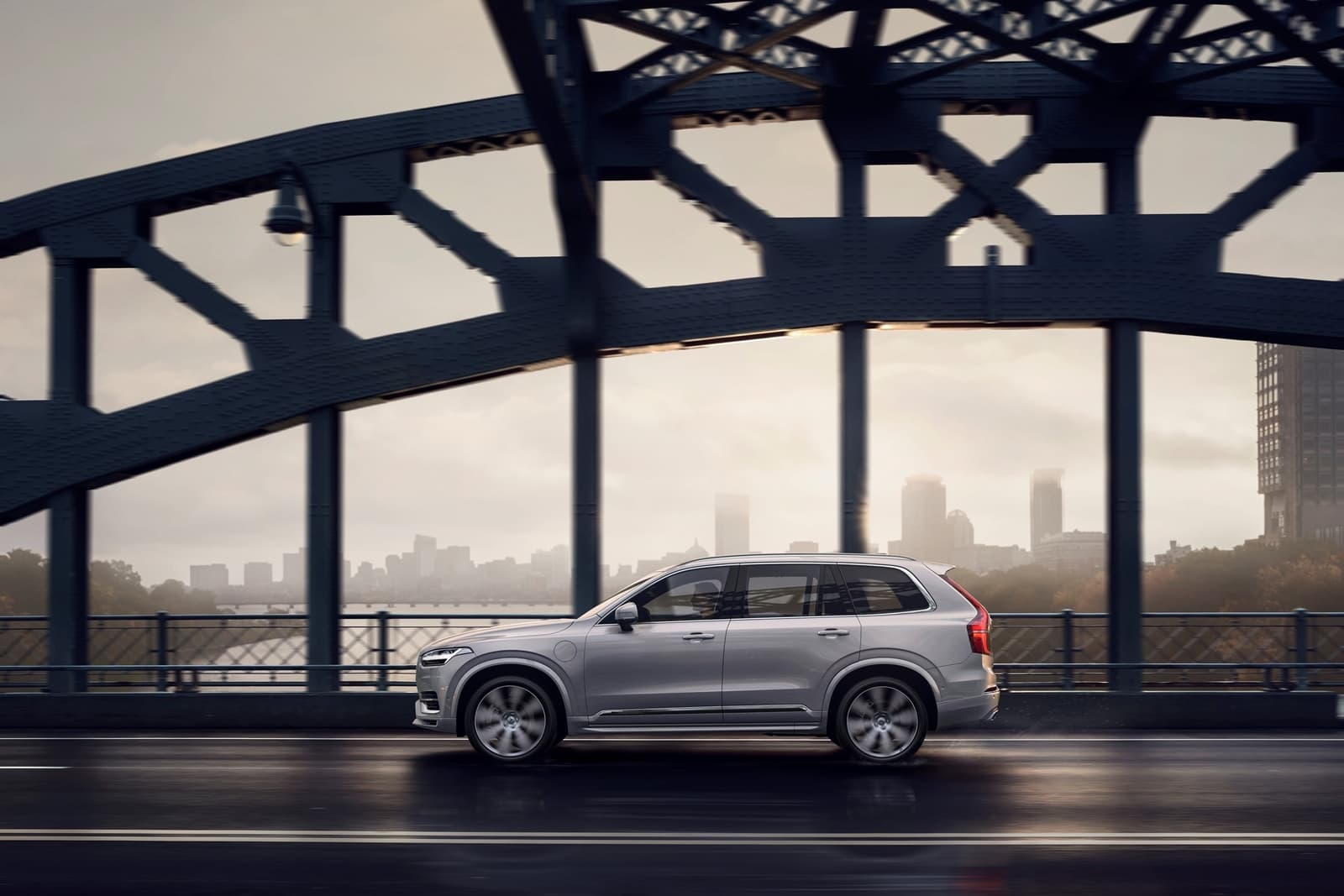 New Volvo Xc90 Inscription T8 Twin Engine In Birch Light Metallic