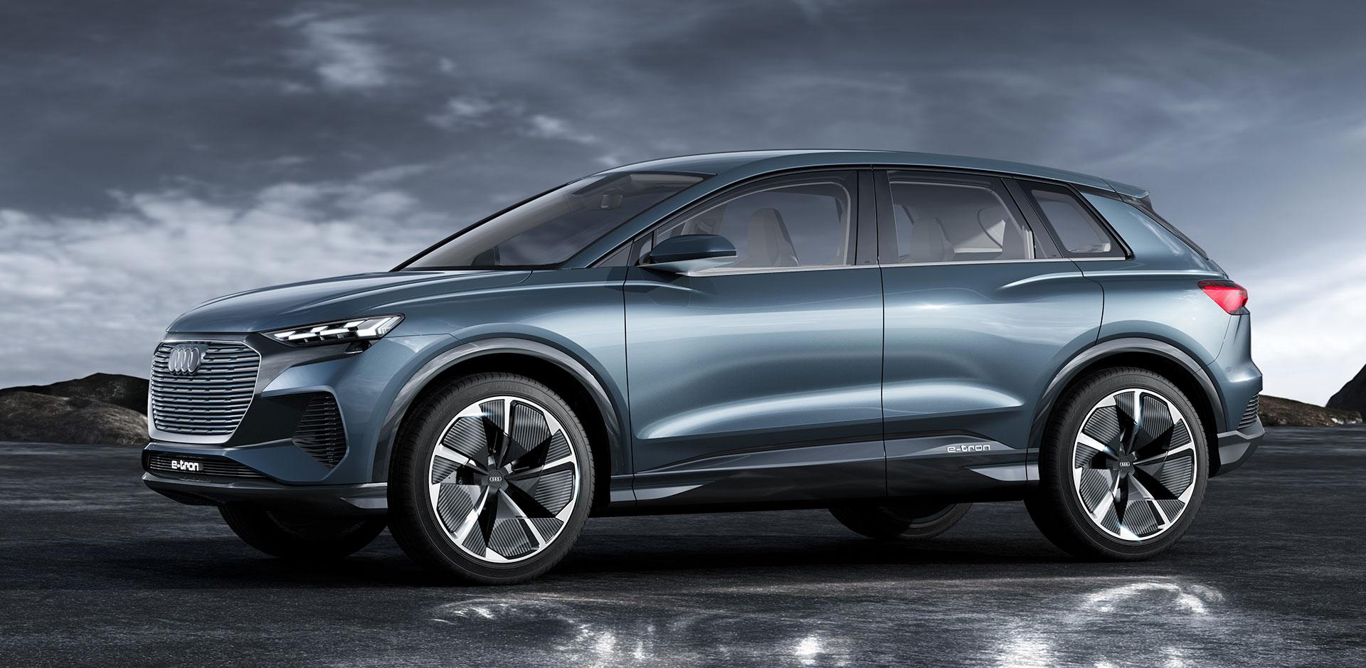 Audi Q4 E Tron Concept 2019 13