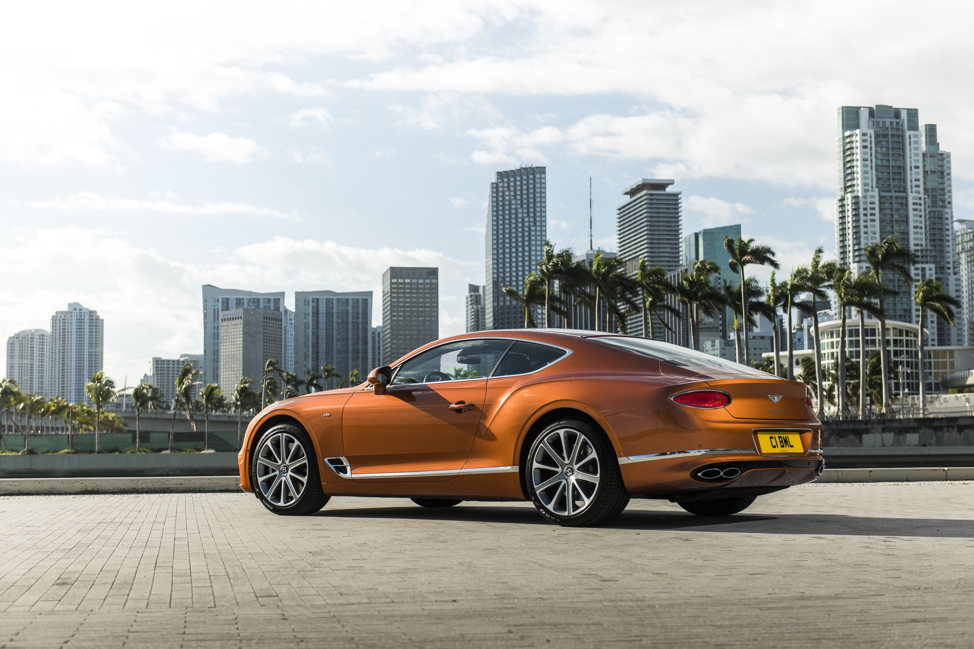 Bentley Continental Gt V8 2019 9