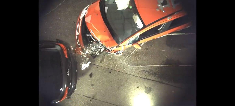 Choque Audi Q7 Citroen