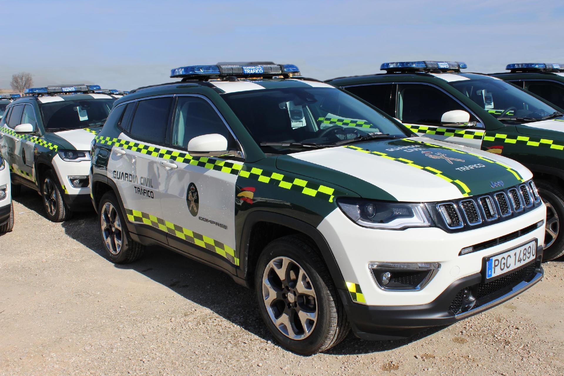 Jeep Compass Guardia Civil 1