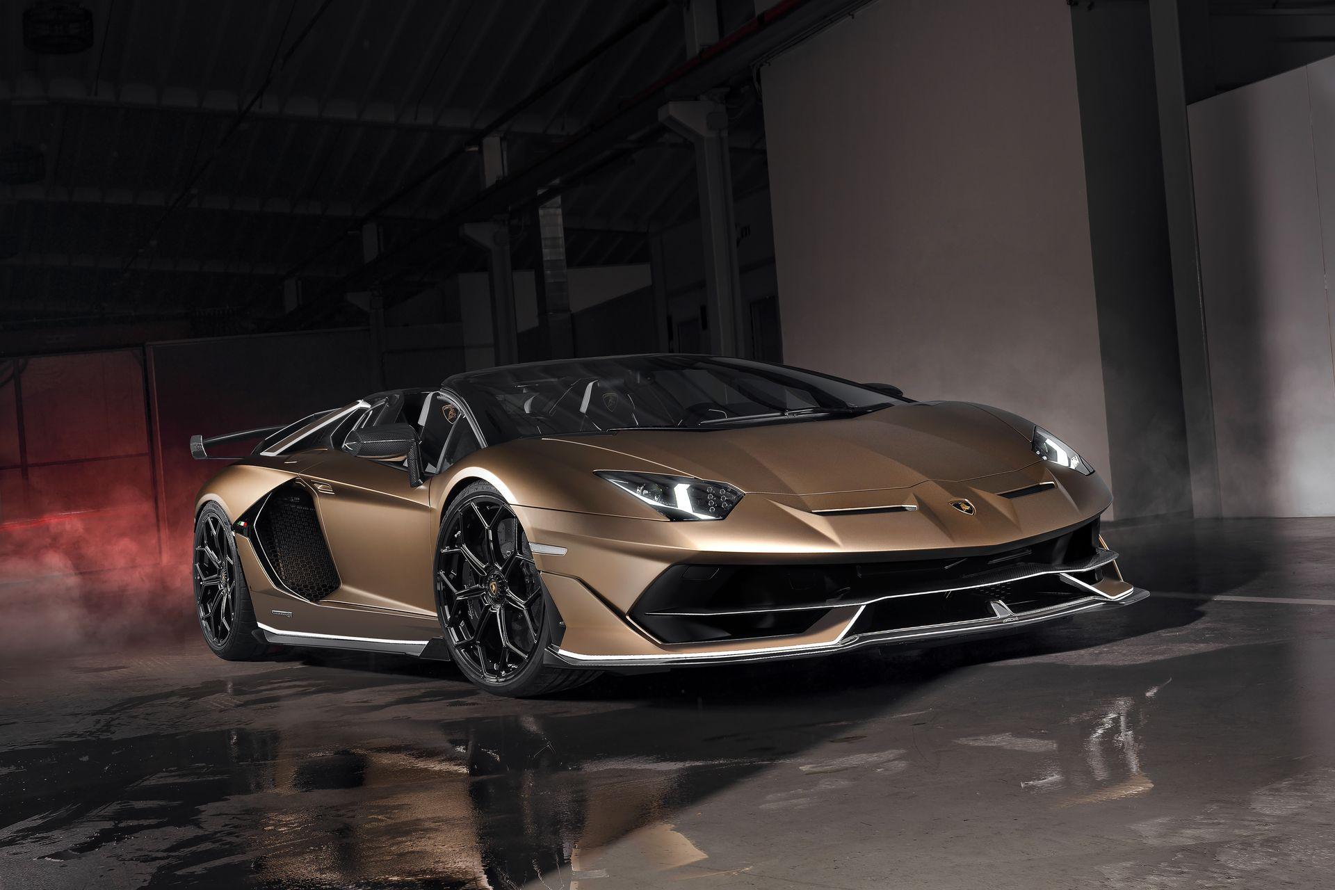 Lamborghini Aventador Svj Roadster 1