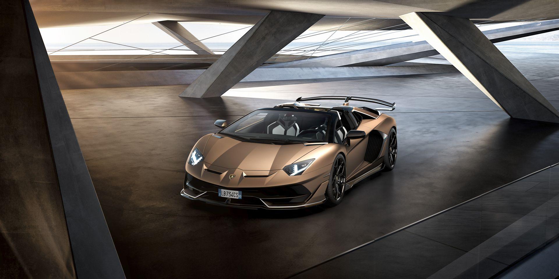 Lamborghini Aventador Svj Roadster 14
