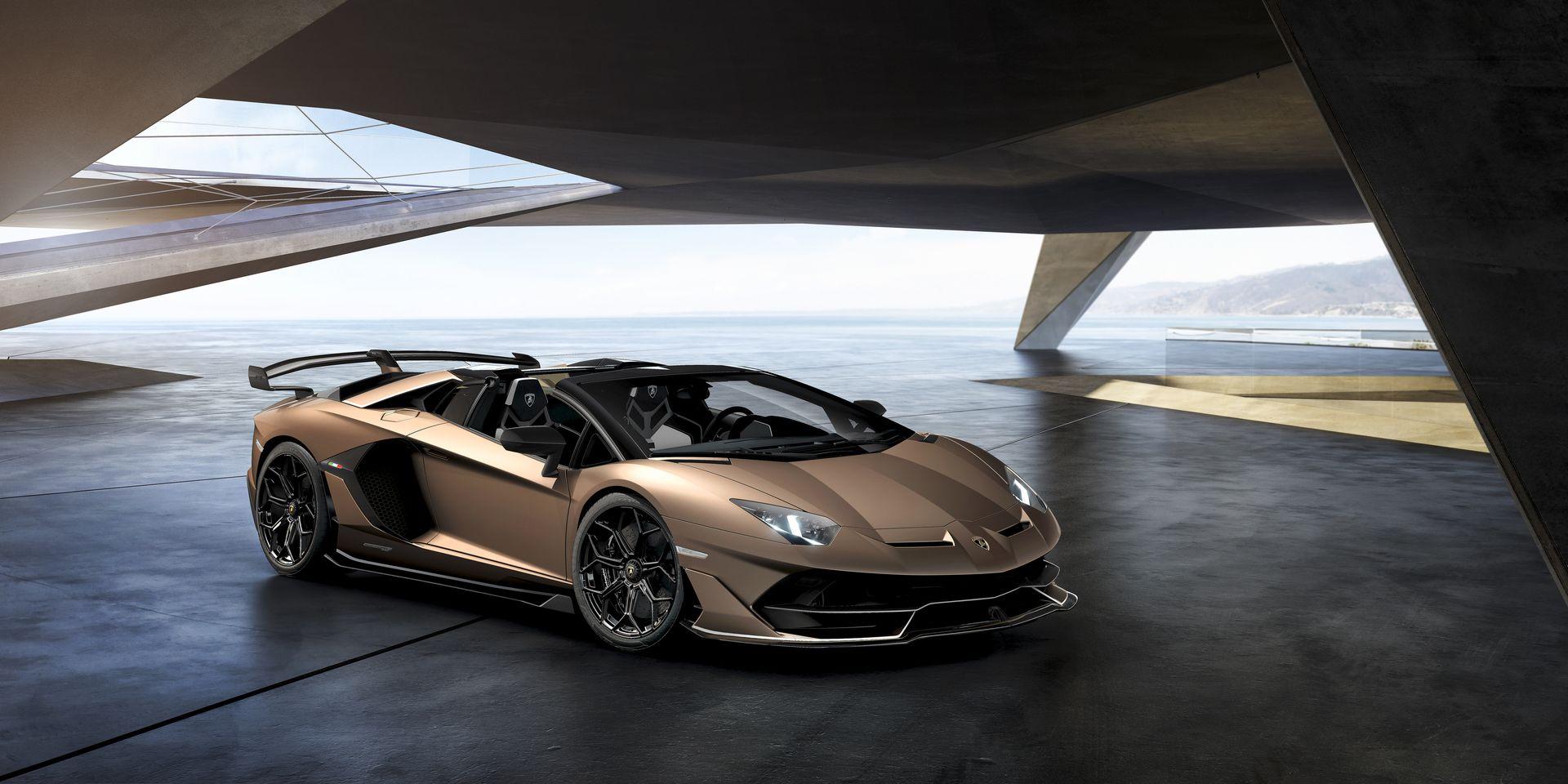 Lamborghini Aventador Svj Roadster 15