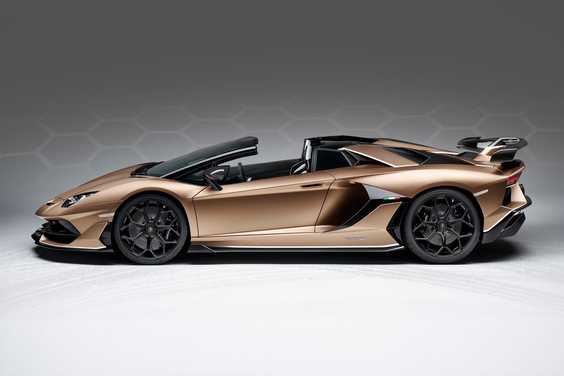 Lamborghini Aventador Svj Roadster 19