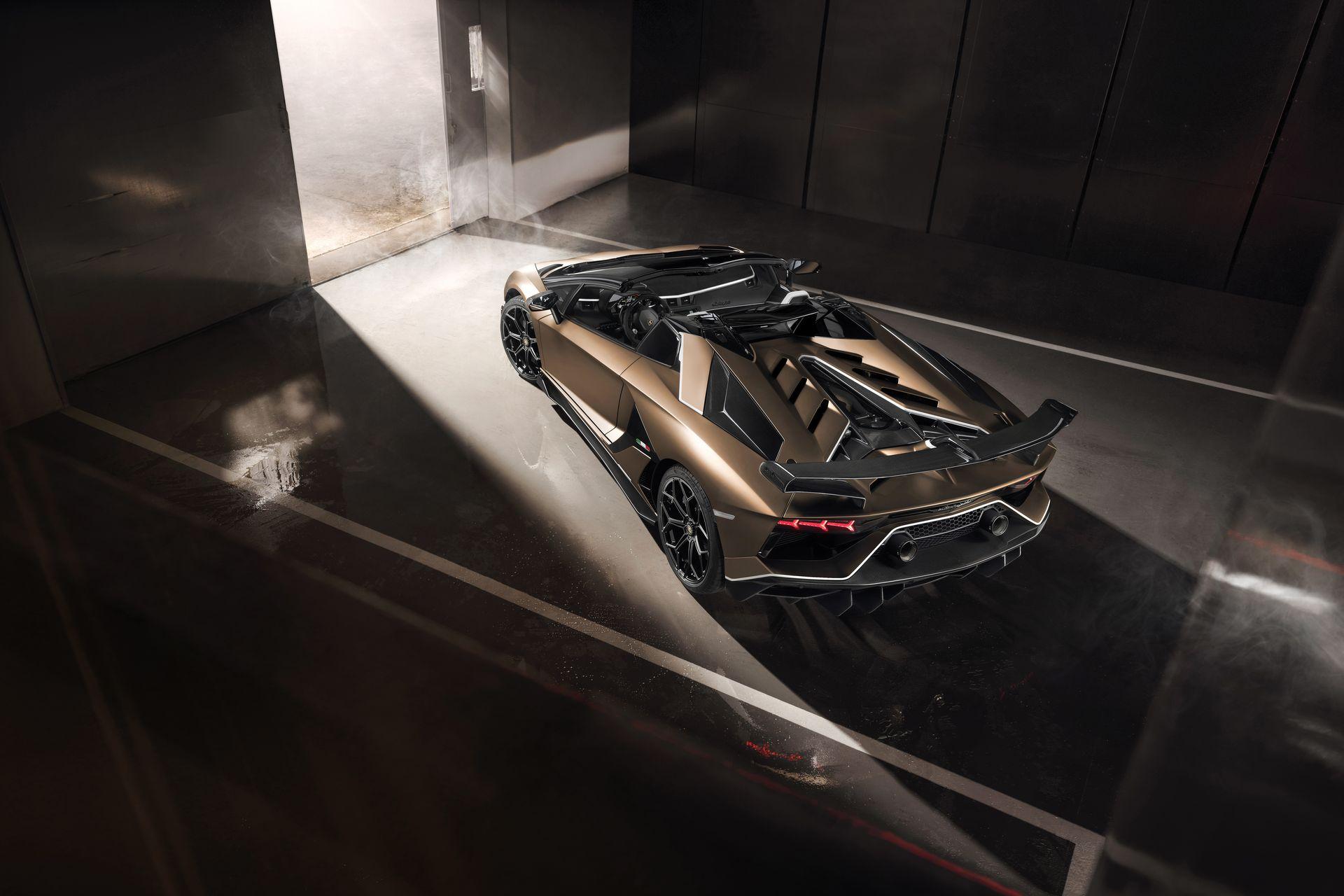 Lamborghini Aventador Svj Roadster 4