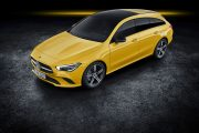 Mercedes Cla Shooting Brake 2019 Amarillo Exterior 06 thumbnail