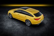 Mercedes Cla Shooting Brake 2019 Amarillo Exterior 07 thumbnail