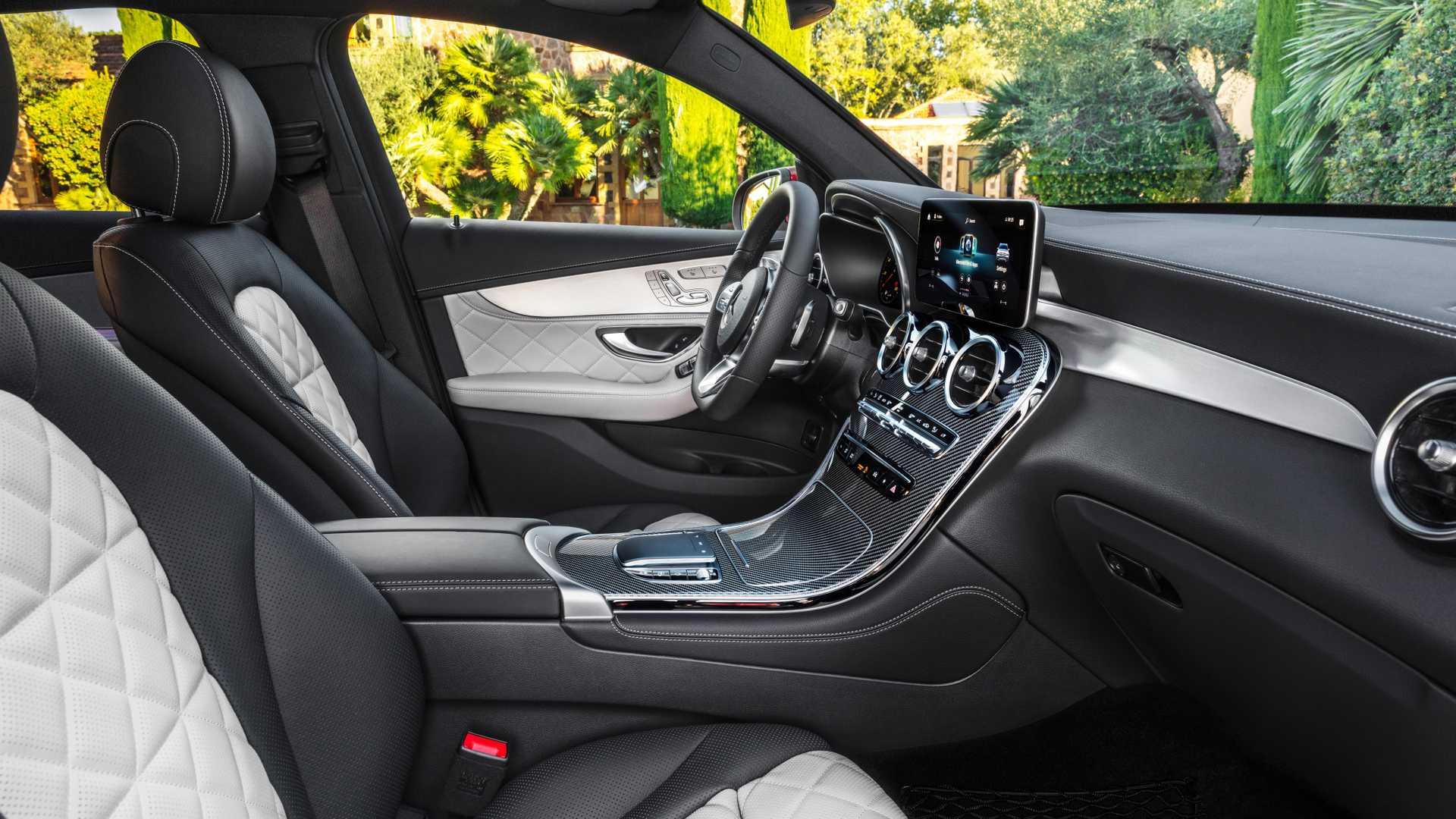 Mercedes Glc Coupe 2019 Interior 02