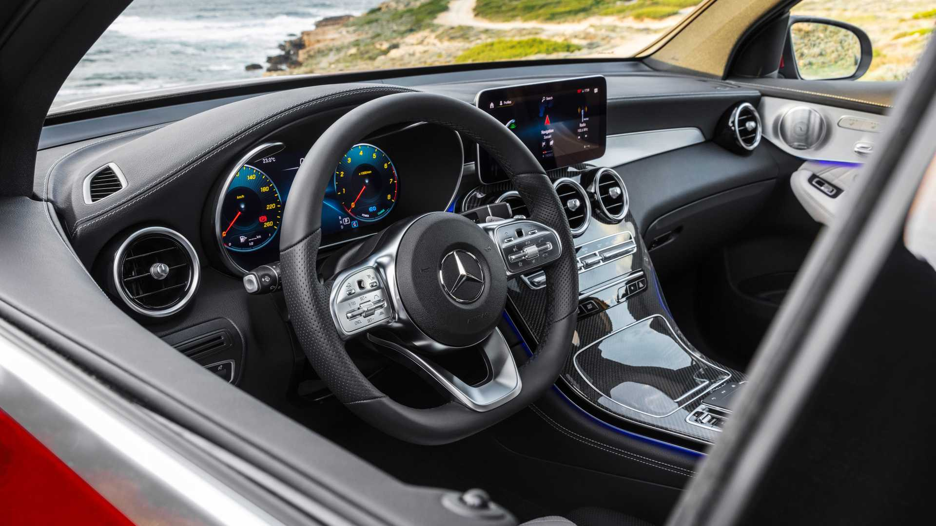 Mercedes Glc Coupe 2019 Interior 03