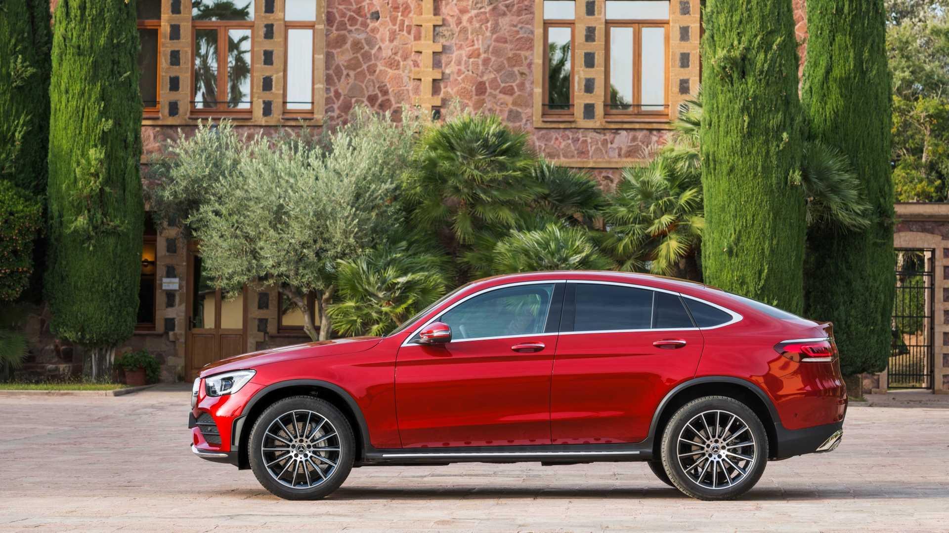 Mercedes Glc Coupe 2019 Rojo 011
