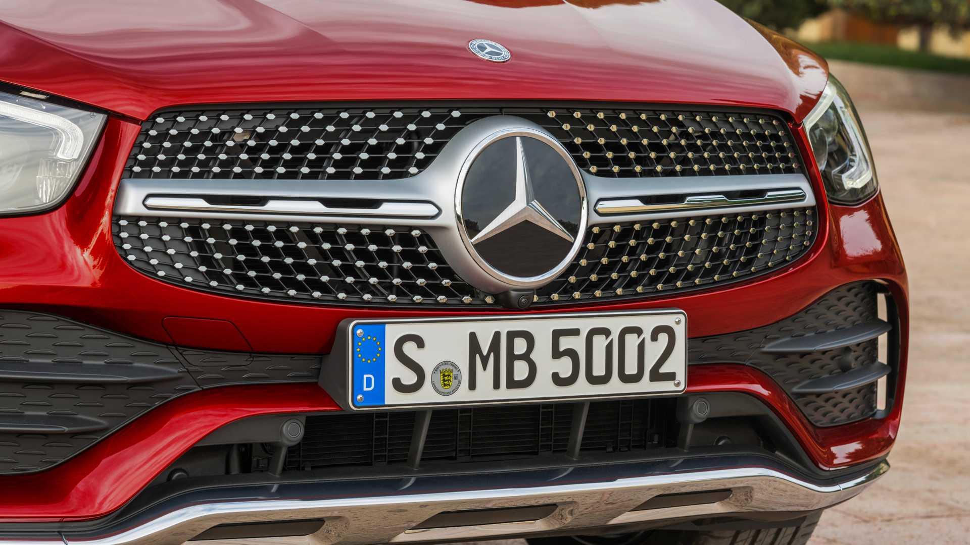 Mercedes Glc Coupe 2019 Rojo 014